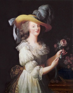 """""""La Reine en Gaulle"""", por Elizabeth Vigée Le Brun (1783)"""