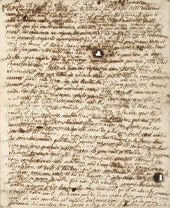 Marie Antoinette last Letter