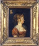 A Imperatriz D. Leopoldina, segundo obra de Jean-Baptiste Debret.