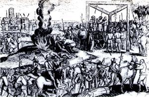 Execução de Hereges no reinado de Maria I.