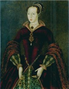 """Lady Jane Grey, a """"rainha dos 9 dias"""", por artista desconhecido."""
