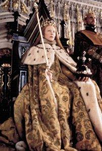 Cena da Coroação de Elizabeth I