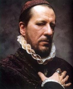 Geoffrey Rush como Francis Walsingham.