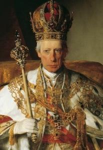 Imperador Francisco I da Áustria, por Friedrich von Amerling.