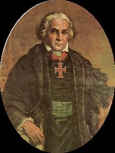 José Bonifácio de Andrada de Silva, por Oscar Pereira da Silva.