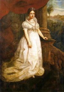 A Imperatriz D. Leopoldina, por Luis Schlappriz (Museu do Estado de Pernambuco, Recife Brazil).