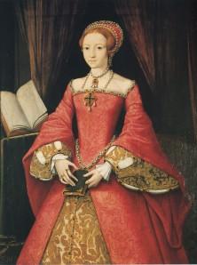 Lady Elizabeth aos 13 anos de idade, atribuído a William Scrots