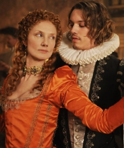 Joely Richardson e Jamie Campbell Bower