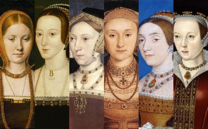 As seis mulhers de Henrique VIII