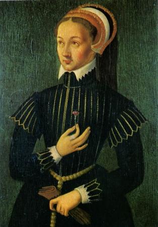 Provável retrato de Claudia de Valois, por artista desconhecido
