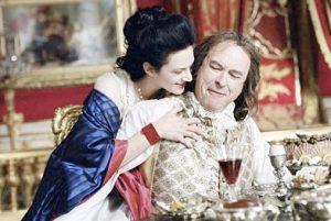 Asia Argento como Madame Du Barry, e Rip Torn como Luís XV.