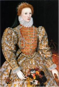 Elizabeth I, atribuído a Federico Zuccaro