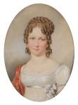 Arquiduquesa Maria Leopoldina, por  Friedrich Johann Gottlieb Lieder