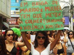Marcha das vadias, na cidade de Itabuna - BA.