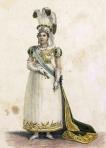 A Imperatriz D. Leopoldina em Trajes da Coroação, por Jean-Baptiste Debret