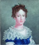 Arquiduqesa Maria Leopoldina, por Jean Françoise Badoureau