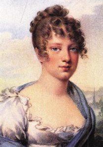 Arquiduquesa Leopoldina, por Isabey