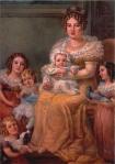 A Imperatriz D. Leopoldina e seus filhos, por  Domenico Failutti.