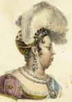 Perfil da Imperatriz D. Leopoldina, por Jean-Baptiste Debret