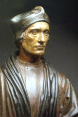 Busto do Bispo John Fisher.