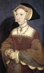 Jane Seymour, por Hans Holbein.