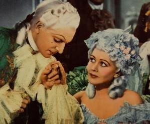 Joseph Schilkraut como o duque d'Orléans e Gladys George como Madame Du Barry.