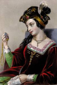 Retrato póstumo de Ana Bolena.