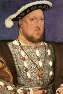 Henrique VIII (c. 1537), por Hans Holbein.
