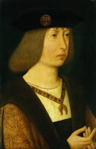 """Felipe """"o Belo"""", em 1500, por artista desconhecido."""