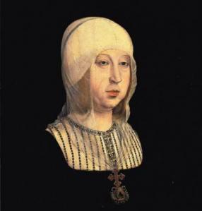Rainha Isabel I de Castela, por Juan de Flandes.