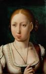 Arquiduquesa Juana, por Juan de Flandes.