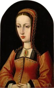 Juana I de Castela, por Master of the Legend of Mary Magdalene.