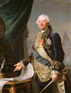 Louis Auguste Le Tonnelier, Barão de Breteuil (por François-Guillaume Ménageot)