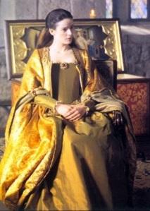 De Cabelos negros e pele alva, Pilar López de Ayala lembra mais as heroínas dos romances da Era Vitoriana, do que a rainha Juana I de Castela.