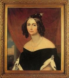 D. Amélia,augures de pois de 1839, por Friedrich Dürck.
