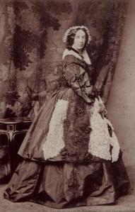 Fotografia de D. Amélia, duquesa de Bragança, em seus últimos anos.