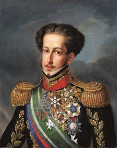 D. Pedro I, por Simplício Rodrigues de Sá.