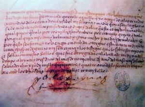 Testamento da rainha Isabel I de Castela.