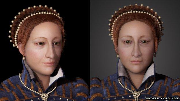 """""""Não havia retratos de Mary pintados durante seu período na Escócia"""""""