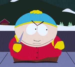 Inspirado em Hitler, o personagem Eric Cartman é o terror da Escola de South Park.