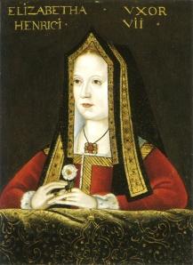 Quadro de Isabel de York, exposto na Galeria Nacional de Retratos de Londres (artista desconhecido).