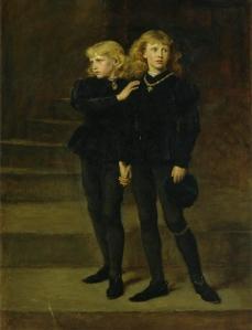 Os Príncipes na Torre (1878), por John Everett Millais.