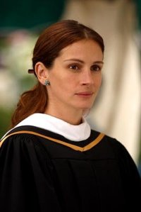 """Julia Roberts como a professora revolucionária de """"O Sorriso de Monalisa"""" (2002)."""