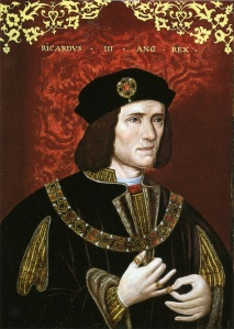 Ricardo III, por artista desconhecido.