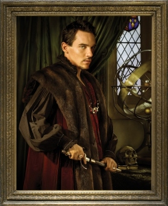 Jonathan Rhys Meyers como Henrique VIII.