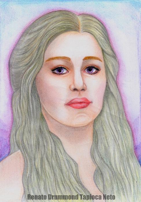 Daenerys Targaryen by Renato Drummond