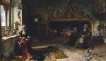 Juana I de Castela, recluída em Tordesilhas, por  Francisco Pradilla.