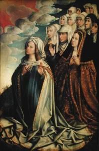 Santa Maria Intervem por Juana I de Castela (por Colijn de Coter.