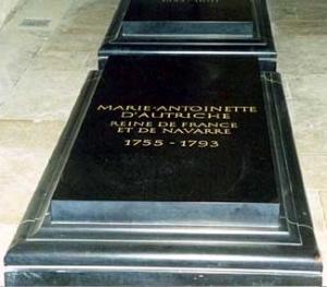 Marie Antoinette's tomb
