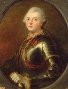 Charles-Henri d'Estaing, uma das testemunhas no processo de Maria Antonieta (retrato de 1769, por Jean-Baptiste Le Brun).